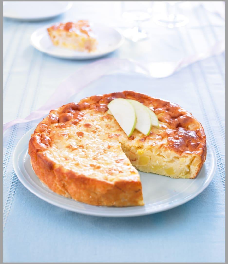 Photo de/du Gâteau au fromage blanc et aux fruits par WW