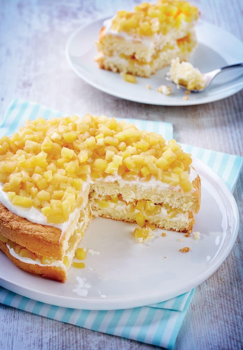 Photo de/du Layer cake aux pommes caramélisées par WW