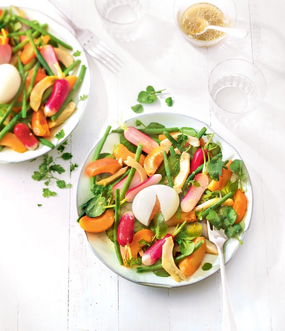 Photo de/du Salade de légumes au thé vert par WW