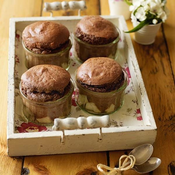 Photo de/du Soufflé chocolat poires par WW