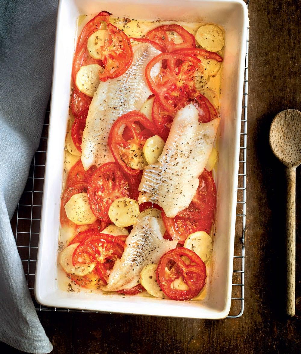 Photo de/du Filets de merlan aux pommes de terre par WW