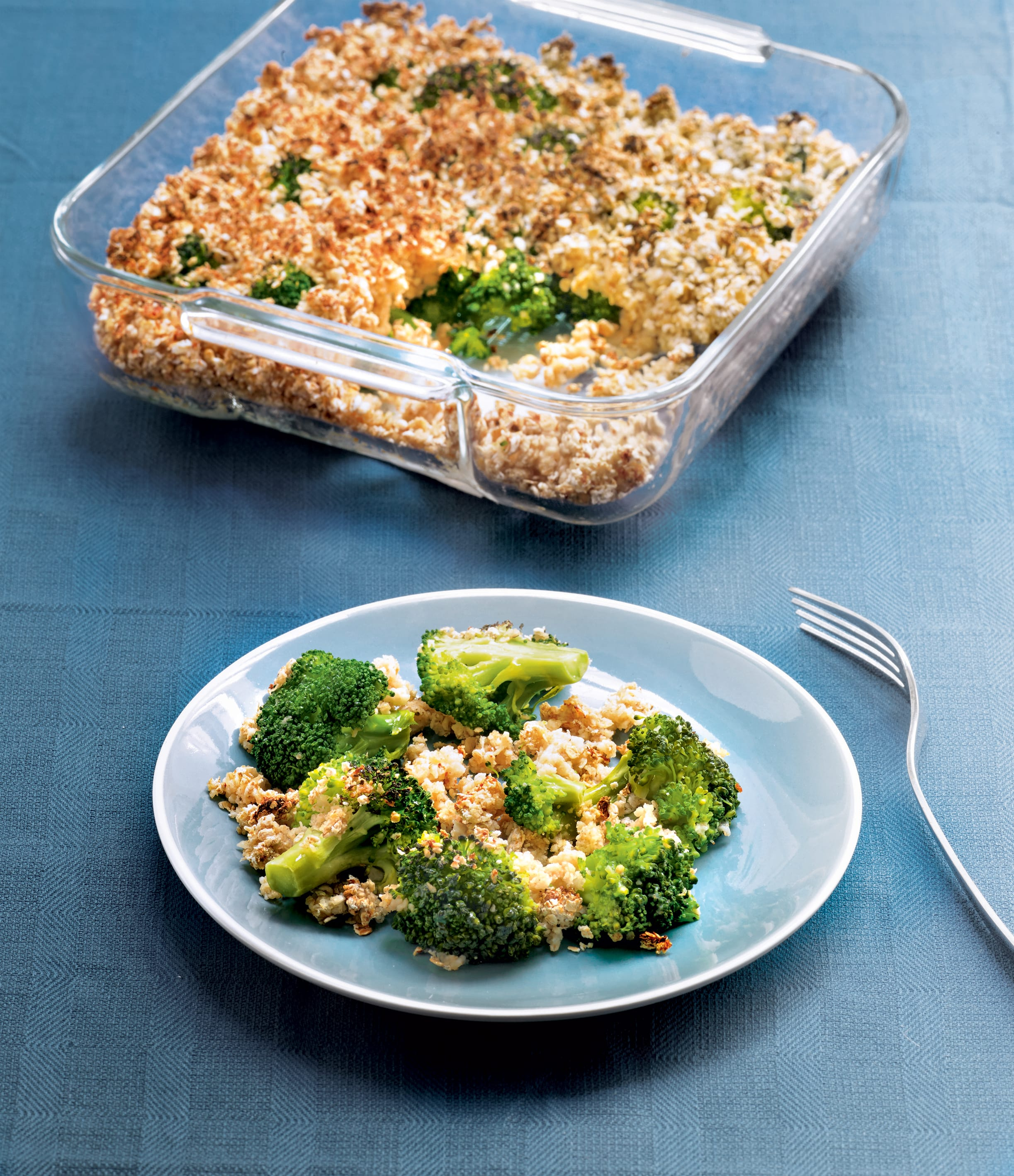 Photo de/du Crumble de brocoli par WW