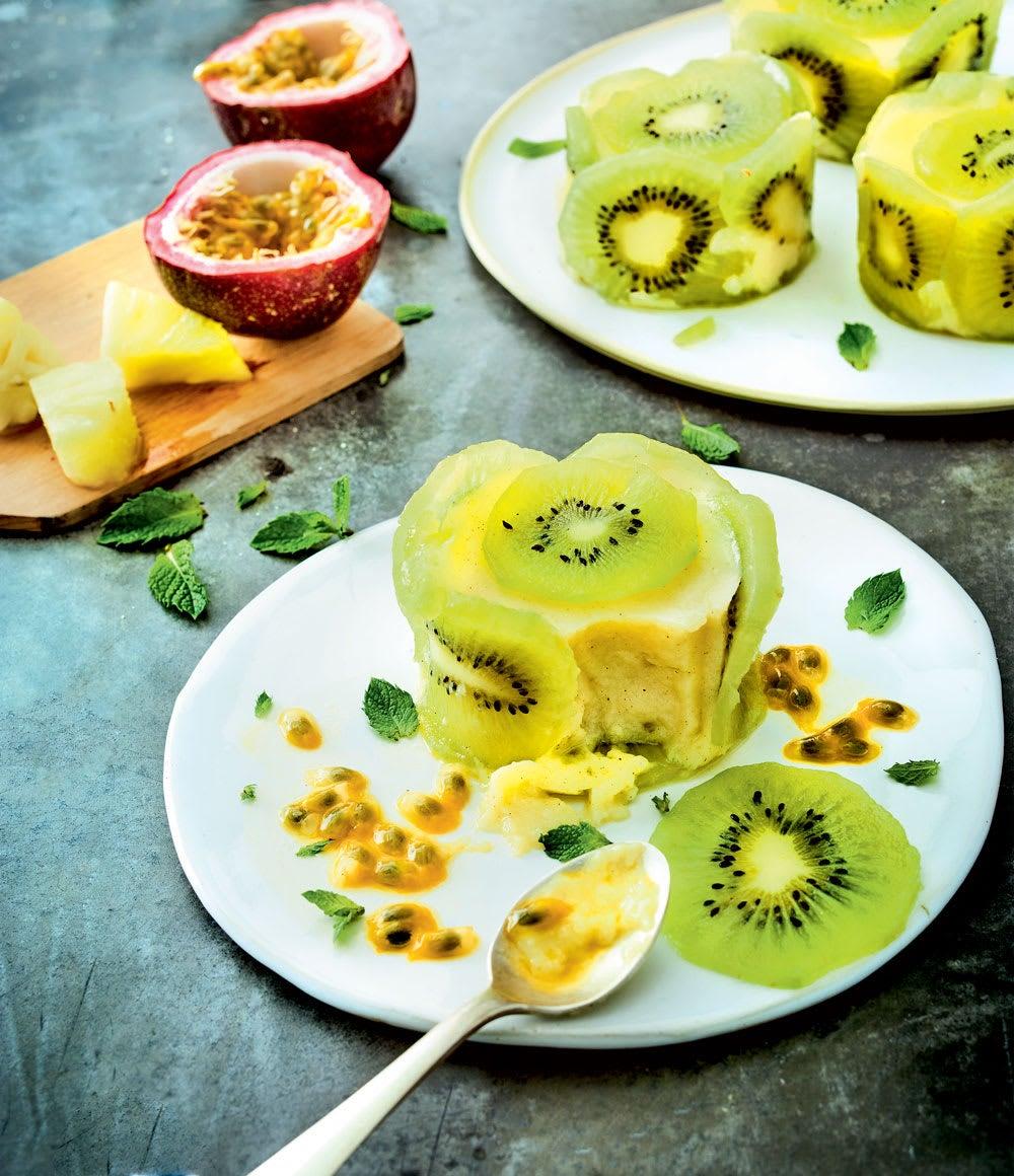 Photo de/du Charlottine ananas et kiwi par WW