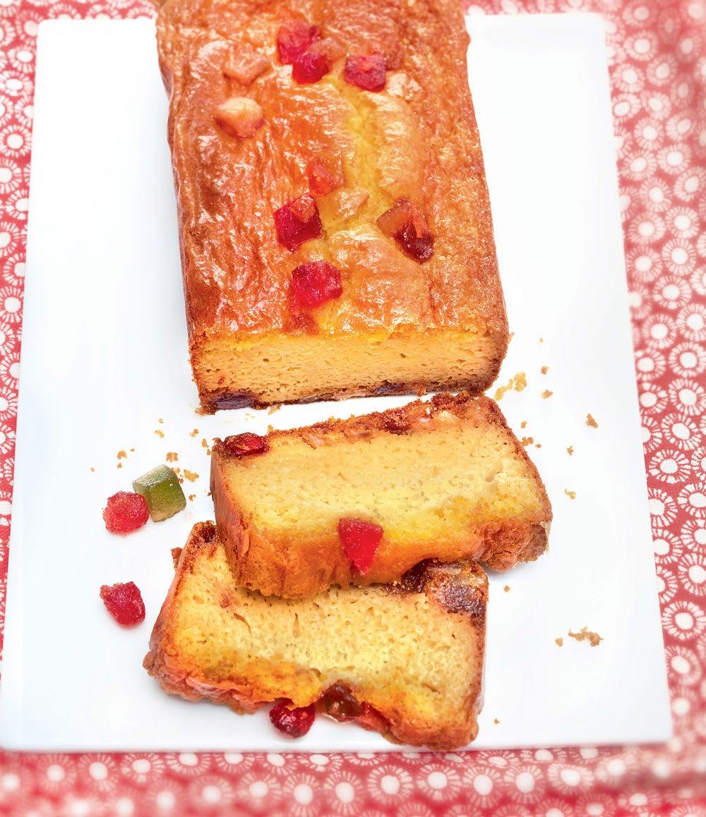 Photo de/du Cake de fruits confits par WW