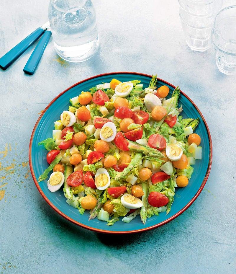 Photo de/du Salade sucrée-salée par WW