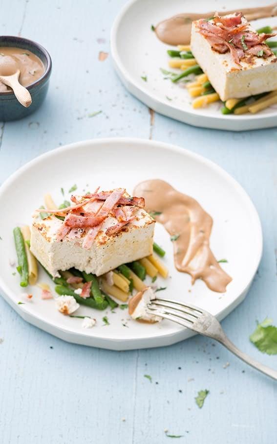 Photo de/du Pavé de tofu aux légumes croquants par WW