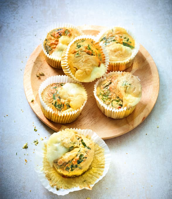 Photo de/du Muffins à la mozzarella par WW