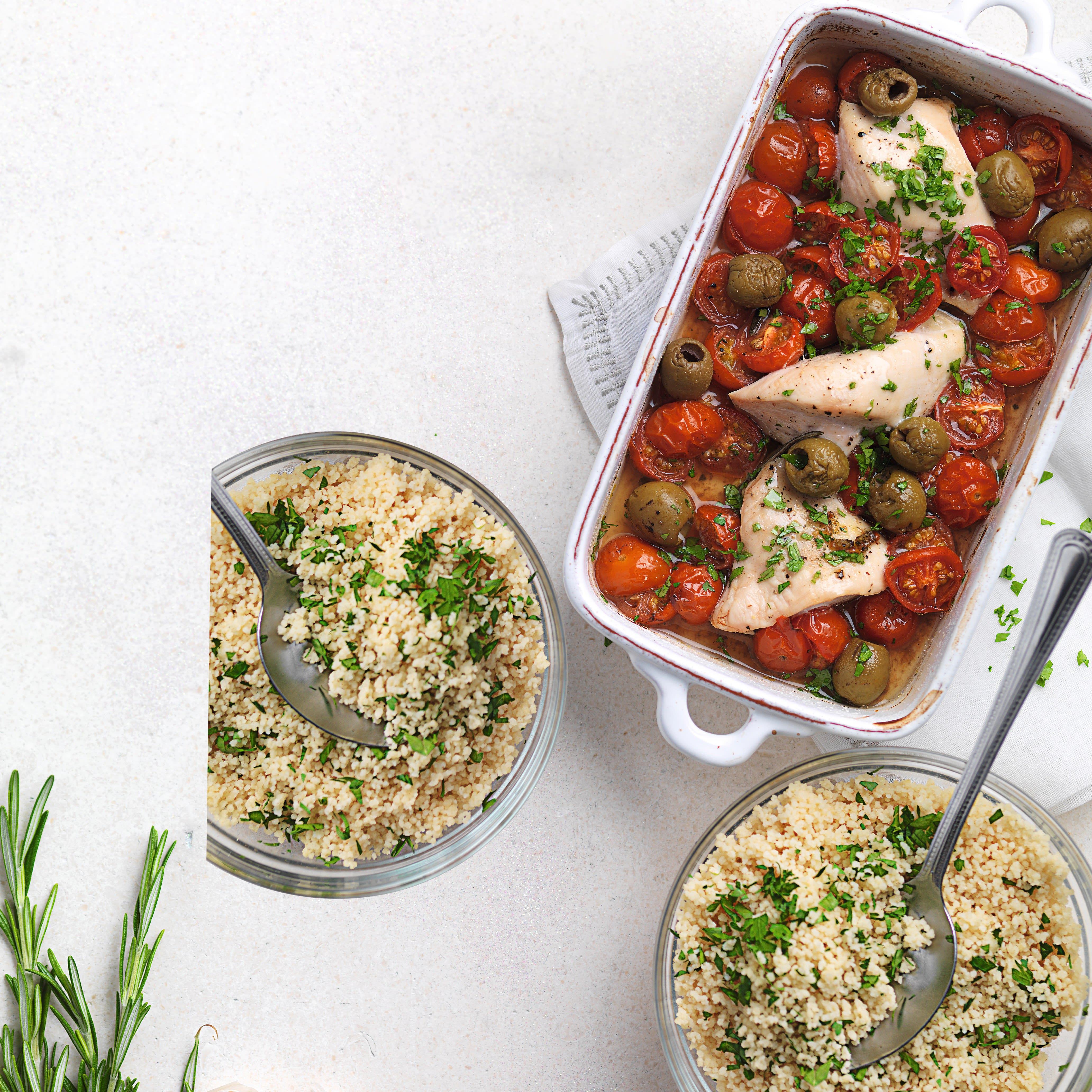 Photo de/du Poulet à la tomate et aux olives par WW