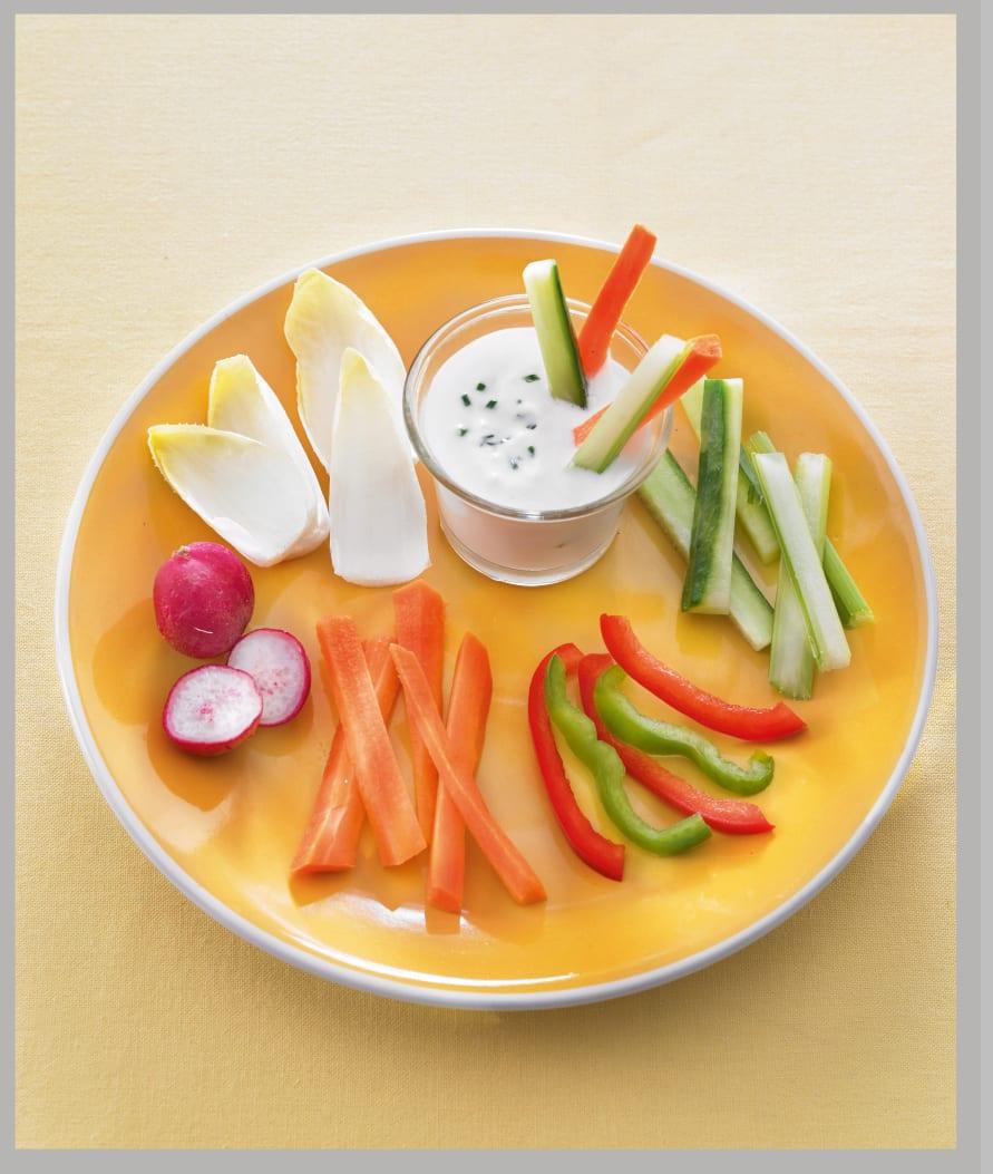 Photo de/du Petits légumes apéro au yaourt de brebis par WW