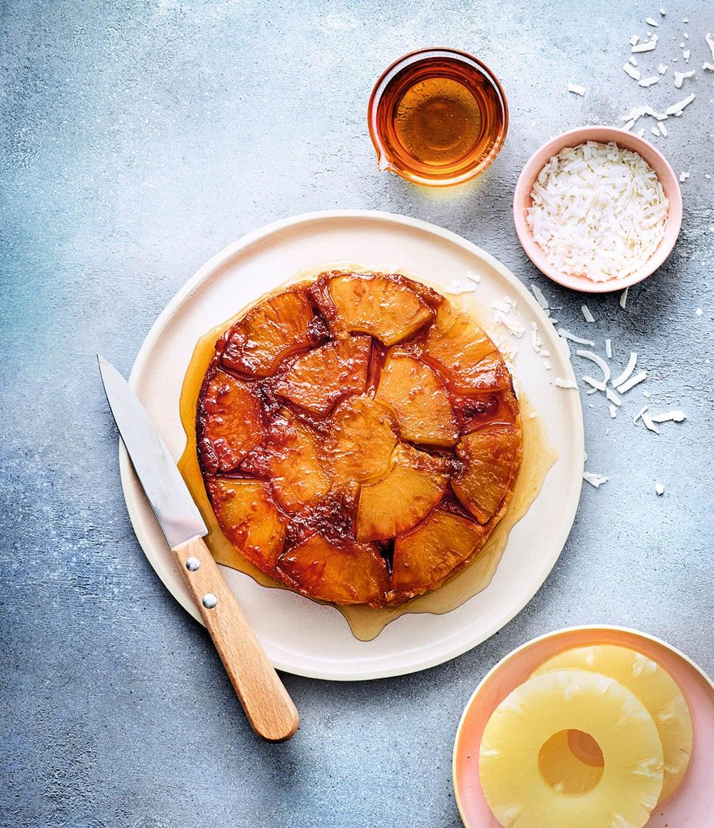 Photo de/du Gâteau tatin d'ananas par WW