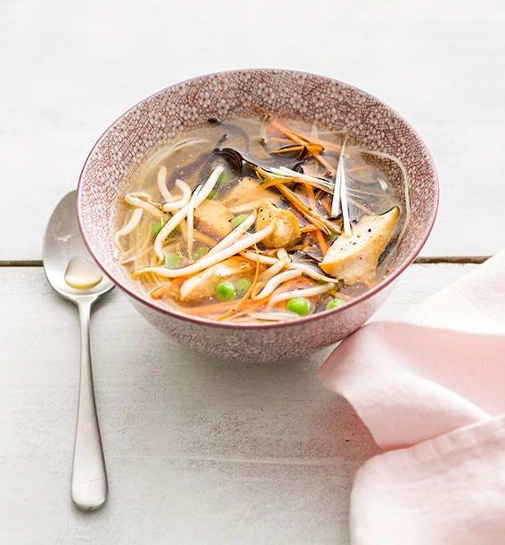 Photo de/du Soupe chinoise au poulet par WW