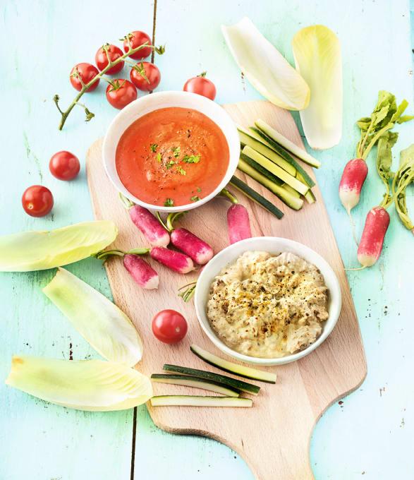 Photo de/du Sauce aux poivrons grillés cumin et sauce au thon par WW