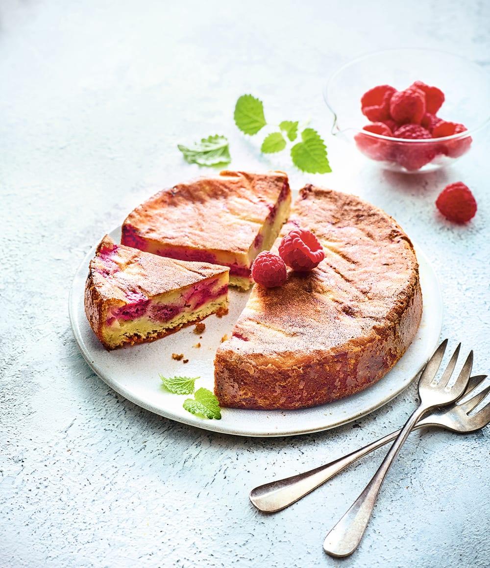 Photo de/du Gâteau à la brousse et aux framboises par WW