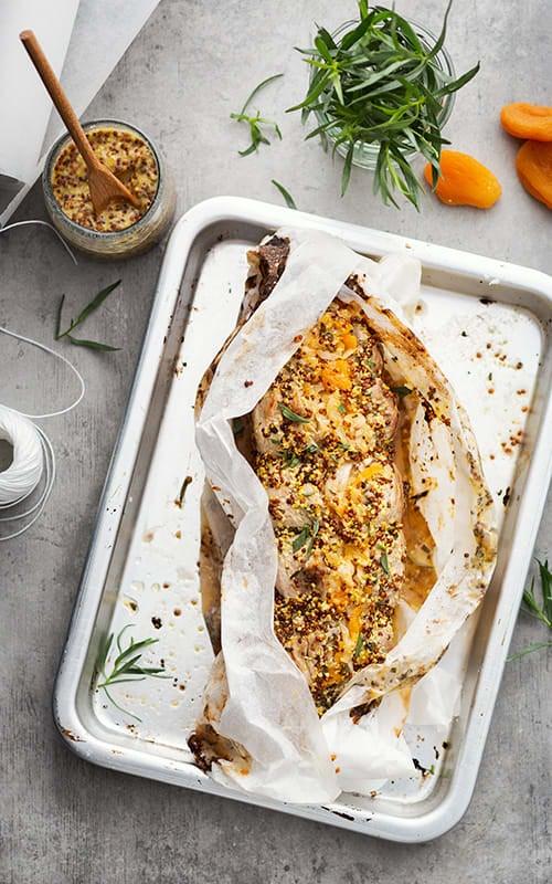 Photo de/du Filet mignon de porc à la moutarde ancienne par WW