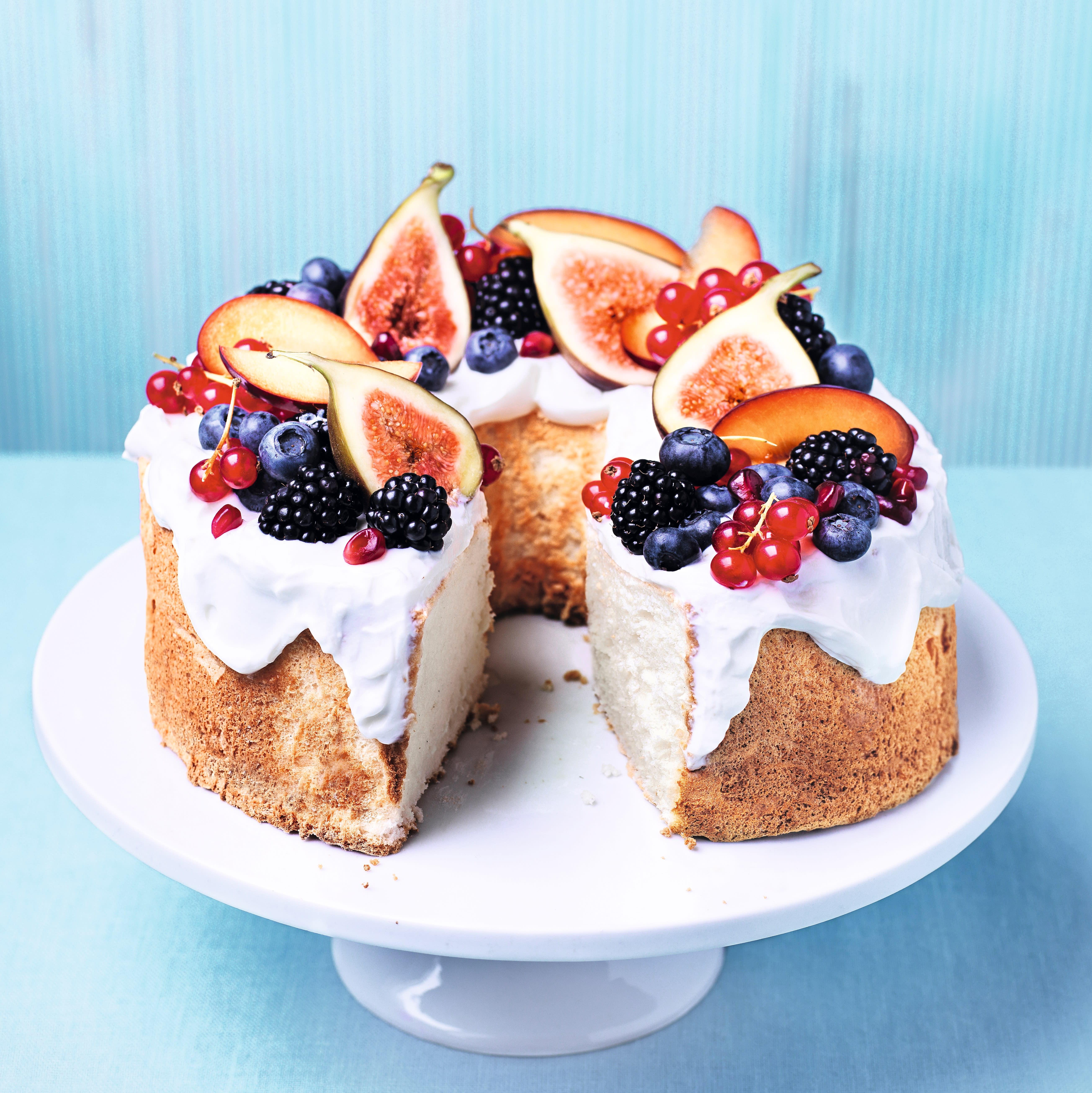 Photo de/du Gâteau léger au gingembre et aux fruits frais par WW