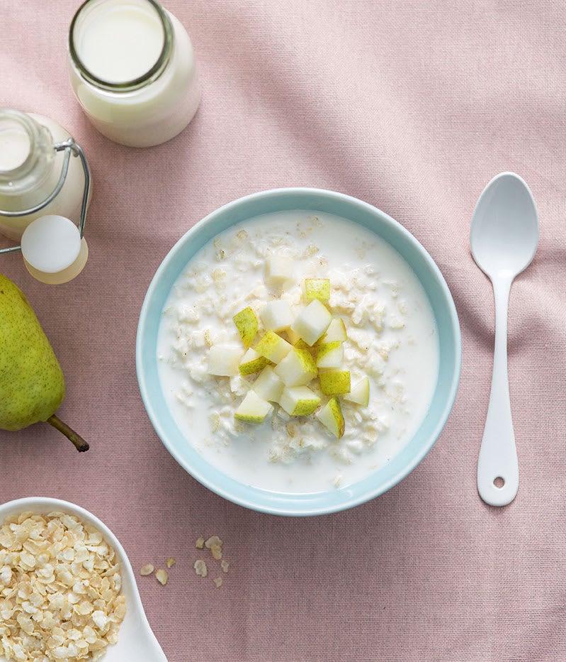 Photo de/du Porridge à la poire par WW