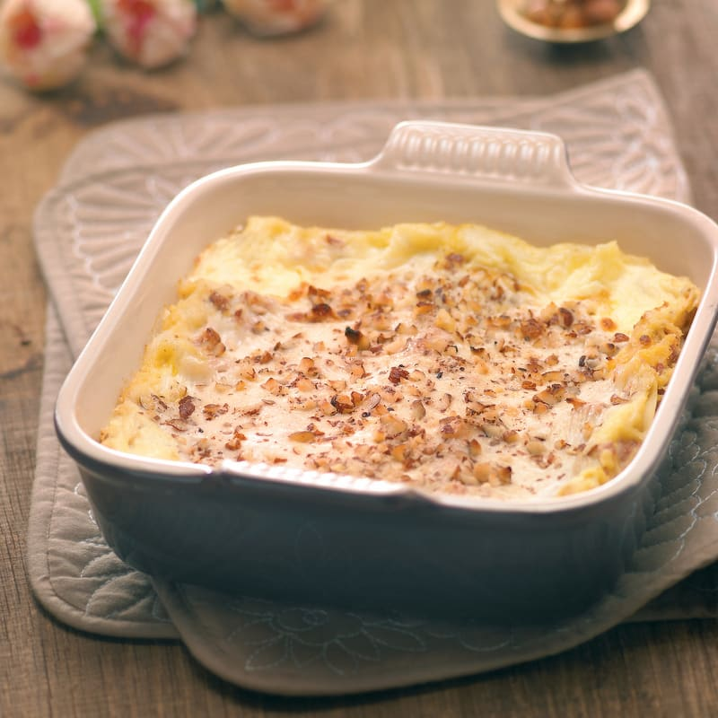 Photo de/du Lasagne aux courges et saucisses par WW