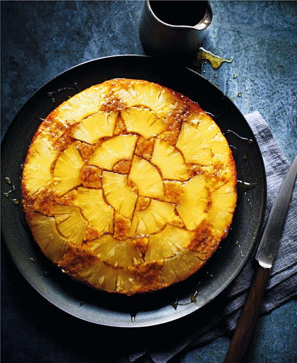 Photo de/du Tatin d'ananas à l'avoine par WW