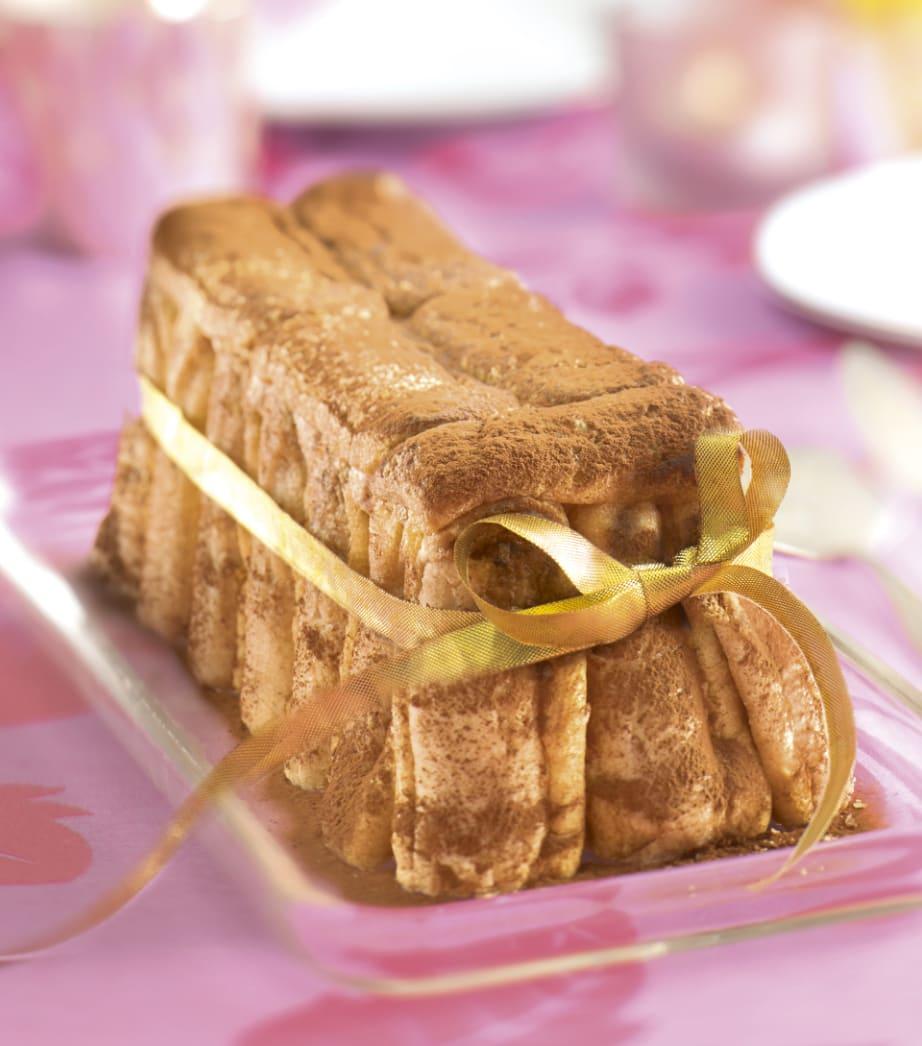 Photo de/du Gâteau de Pâques façon tiramisu tout choco par WW