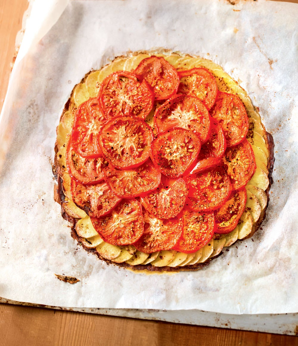 Photo de/du Tarte fine à la tomate, moutarde et cumin par WW