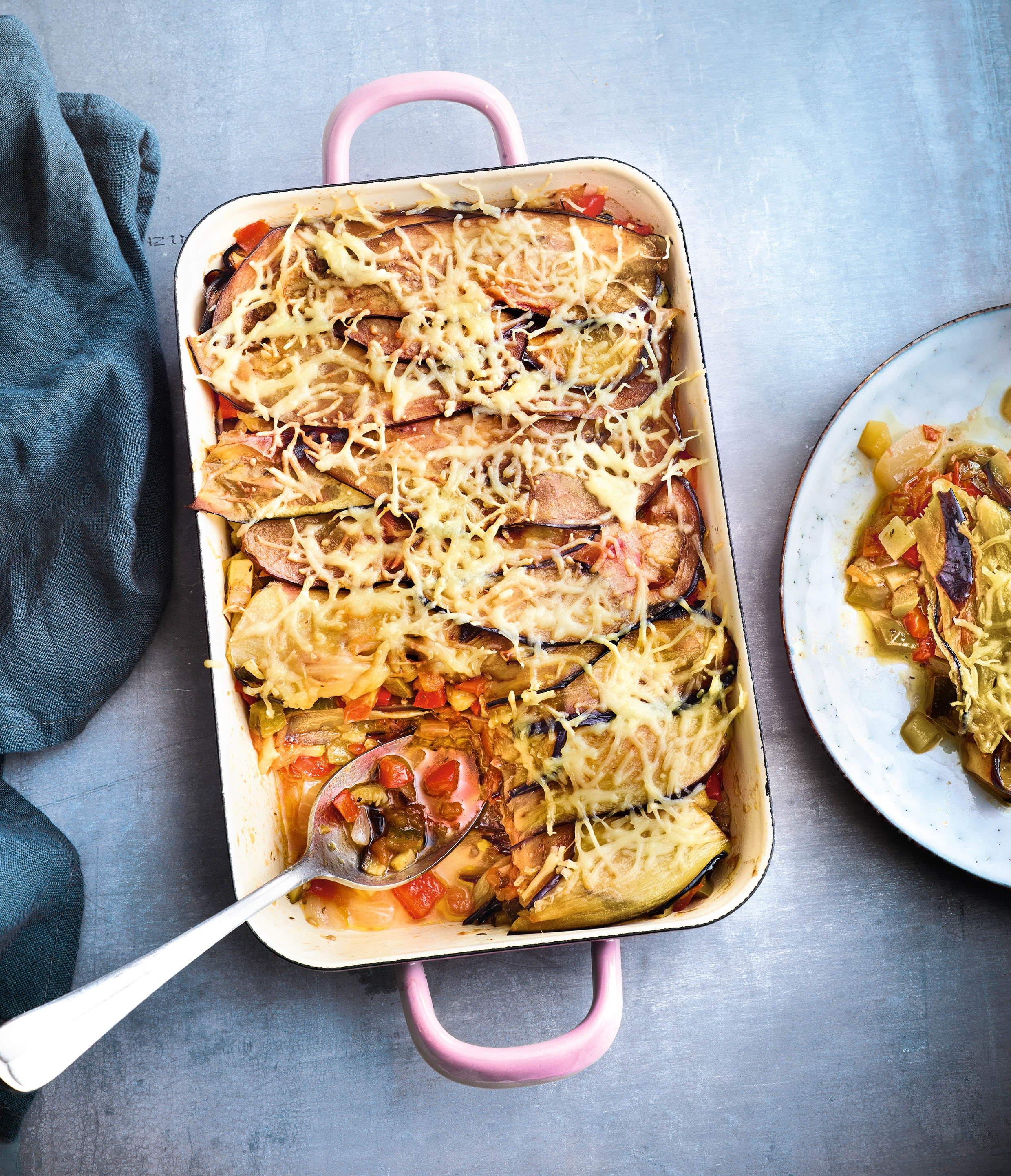Photo de/du Lasagnes d'aubergine et ratatouille par WW