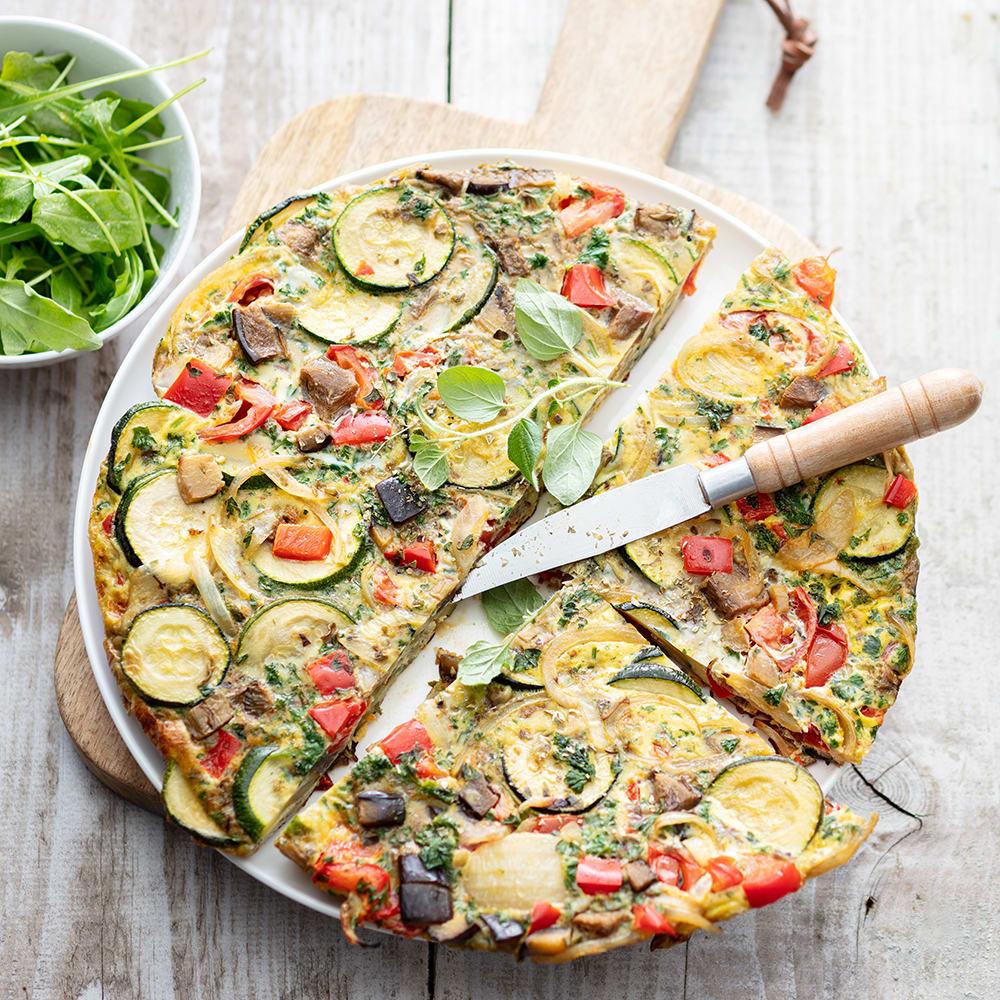 Photo de/du Tortilla aux légumes d'été par WW