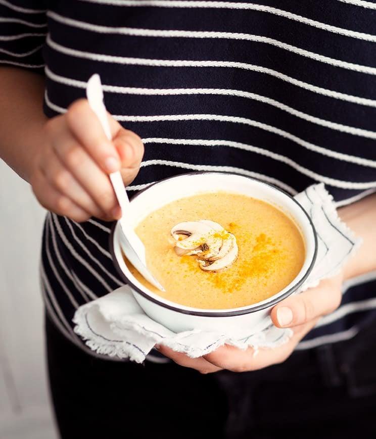 Photo de/du Crème de maïs au fromage fondu par WW