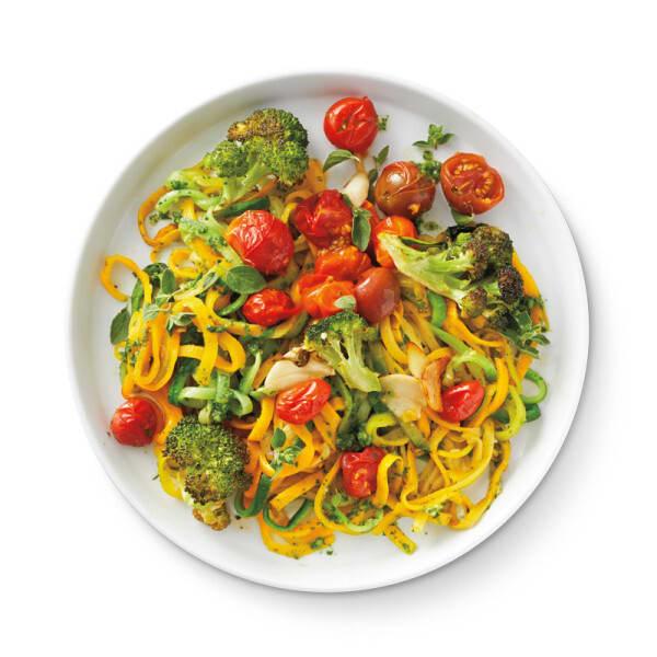 Photo de/du Spaghettis de courgette primavera par WW