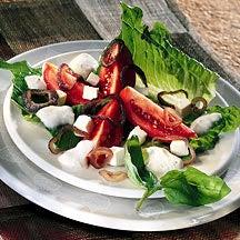 Photo de/du Salade romaine aux anneaux d'oignon rôti par WW
