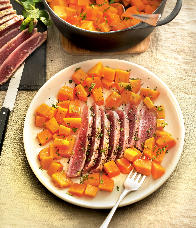 Photo de/du Thon émincé et salade de butternut par WW