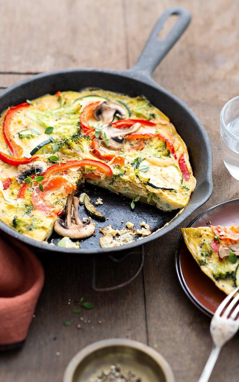 Photo de/du Tortilla aux légumes par WW
