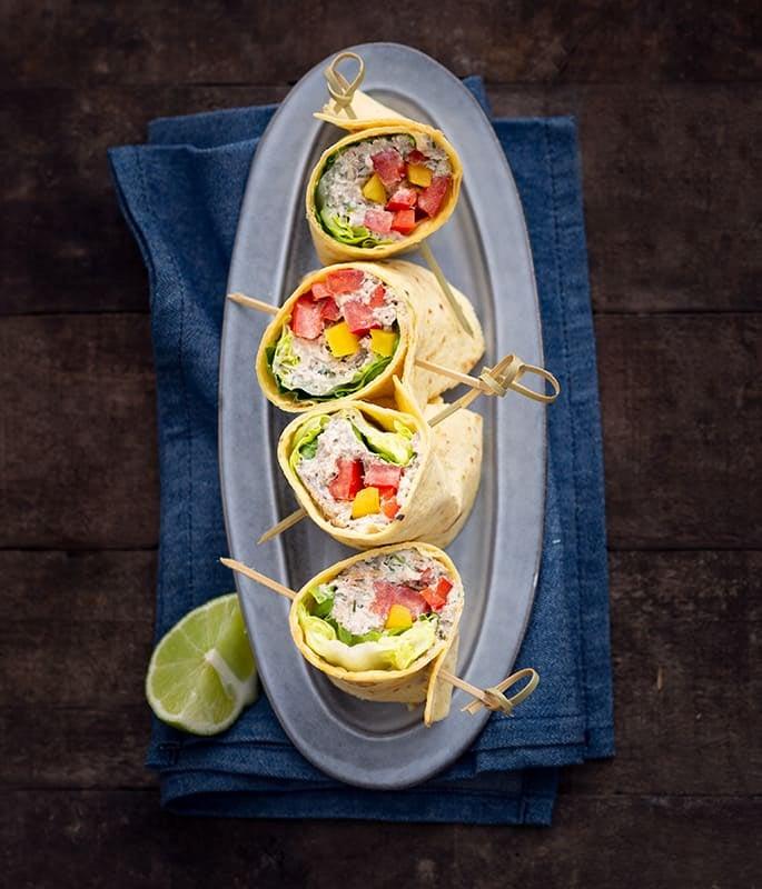 Photo de/du Wraps de crème de sardines par WW