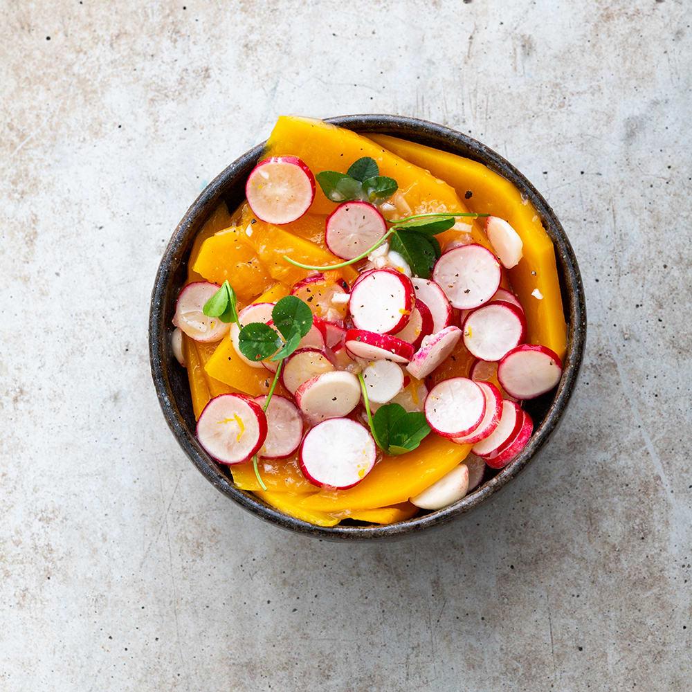 Photo de/du Salade aigre-douce au potiron par WW