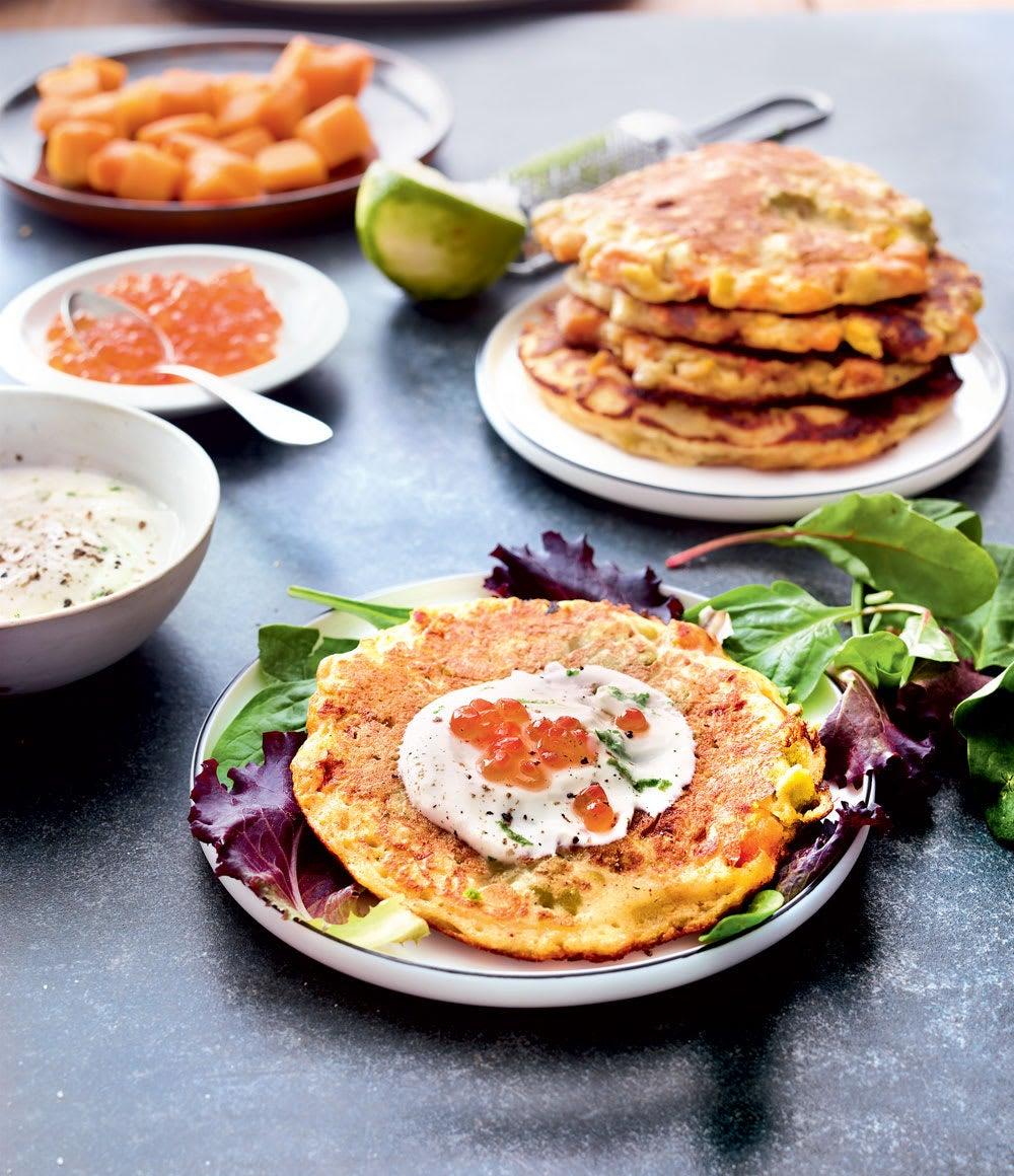 Photo de/du Pancakes de pois cassés par WW