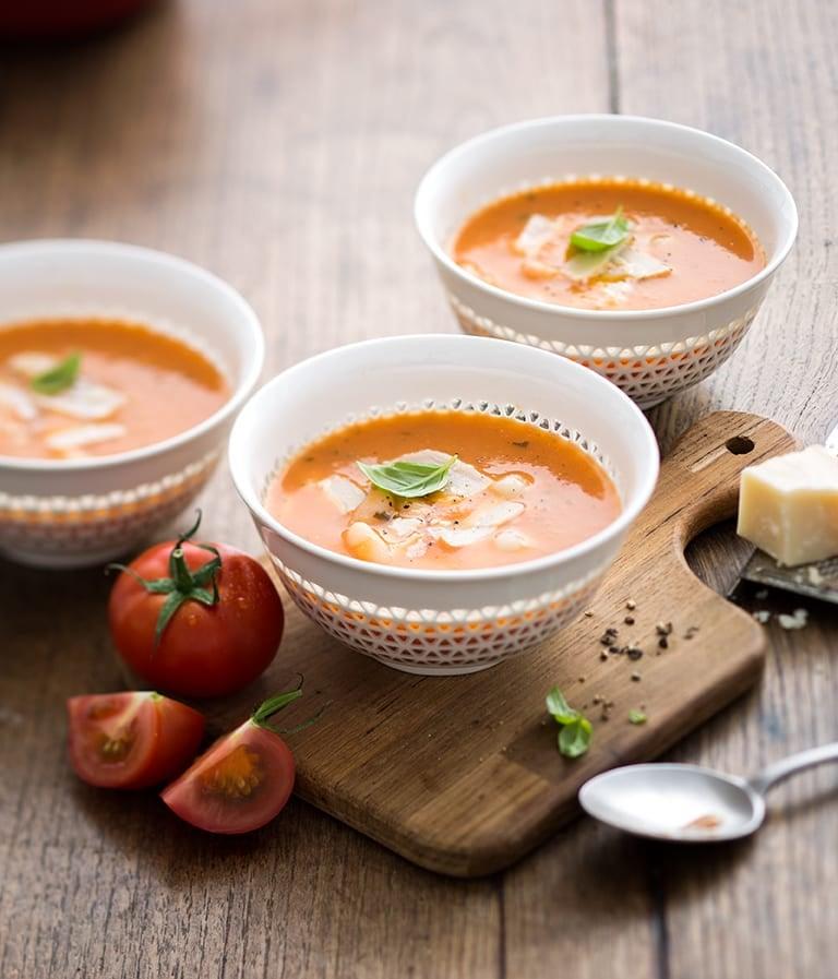 Photo de/du Soupe de tomate aux cocos et pistou par WW