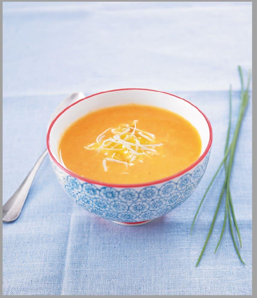 Photo de/du Soupe de carottes et de pomme verte par WW
