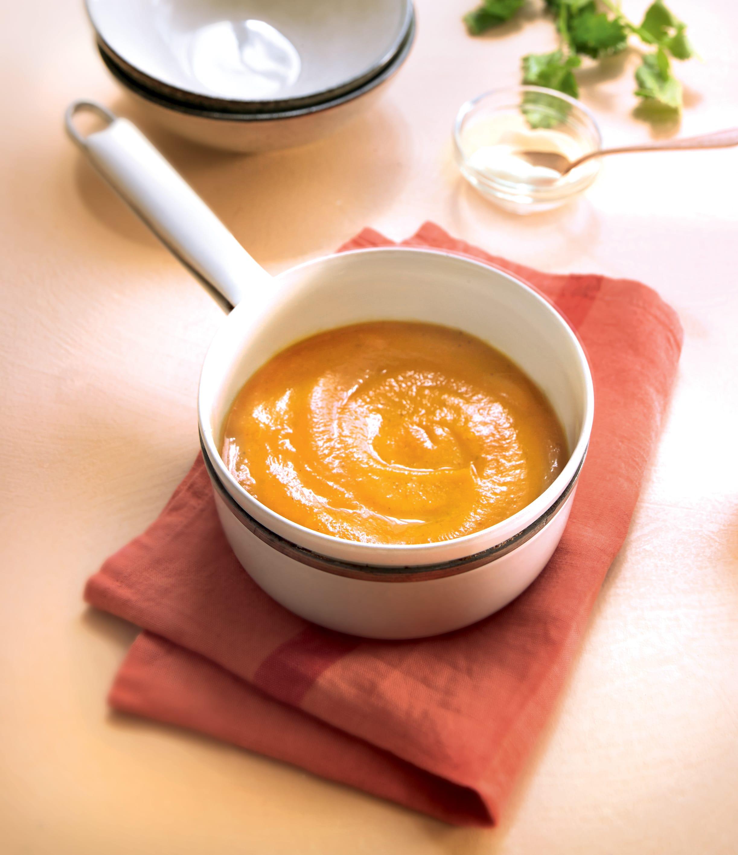 Photo de/du Velouté de courge au curry d'Estelle par WW