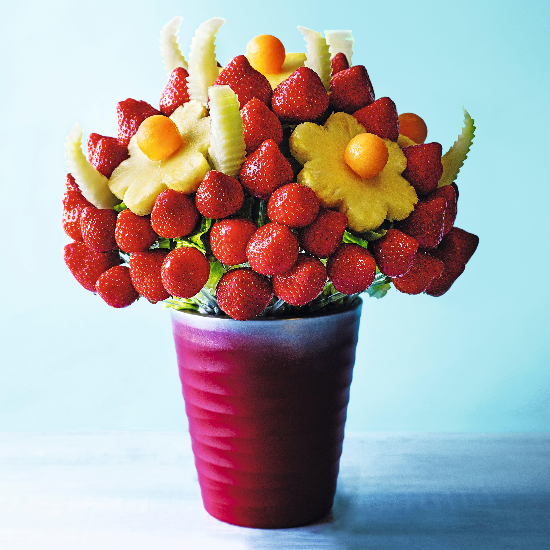 Photo de/du Bouquet de fraises, melon et ananas par WW