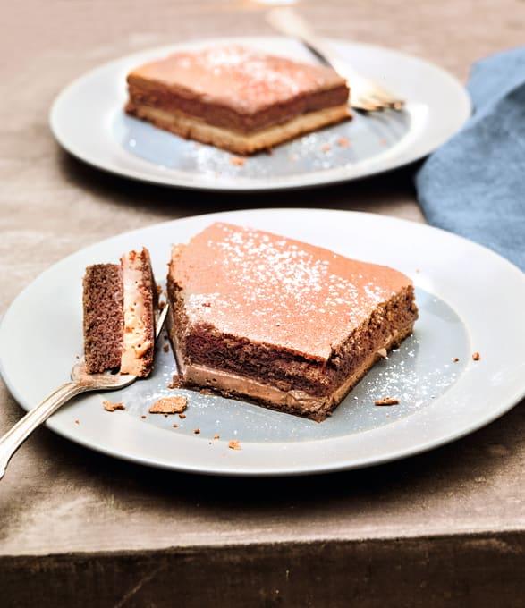 Photo de/du Gâteau magique tout chocolat par WW