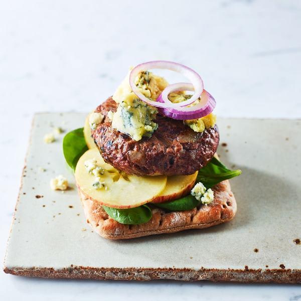 Photo de/du Burger ouvert au Roquefort par WW