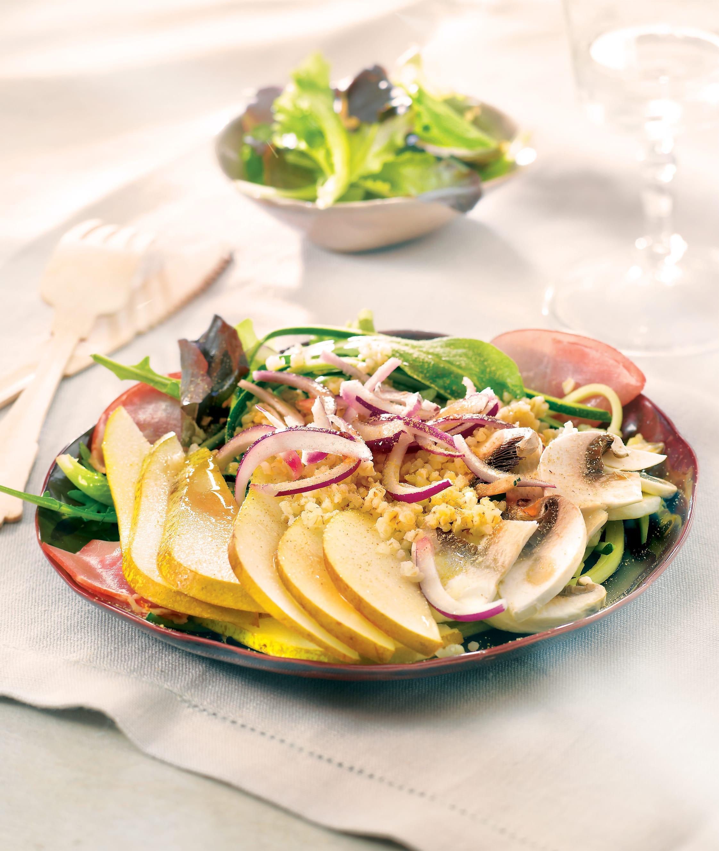 Photo de/du Salade sucrée salée au quinoa par WW
