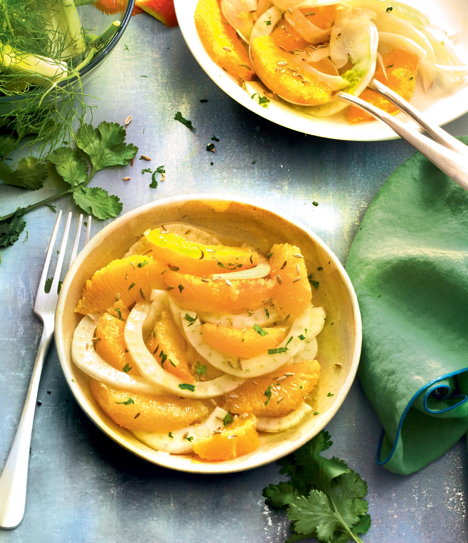 Photo de/du Salade de fenouil, oranges et coriandre par WW