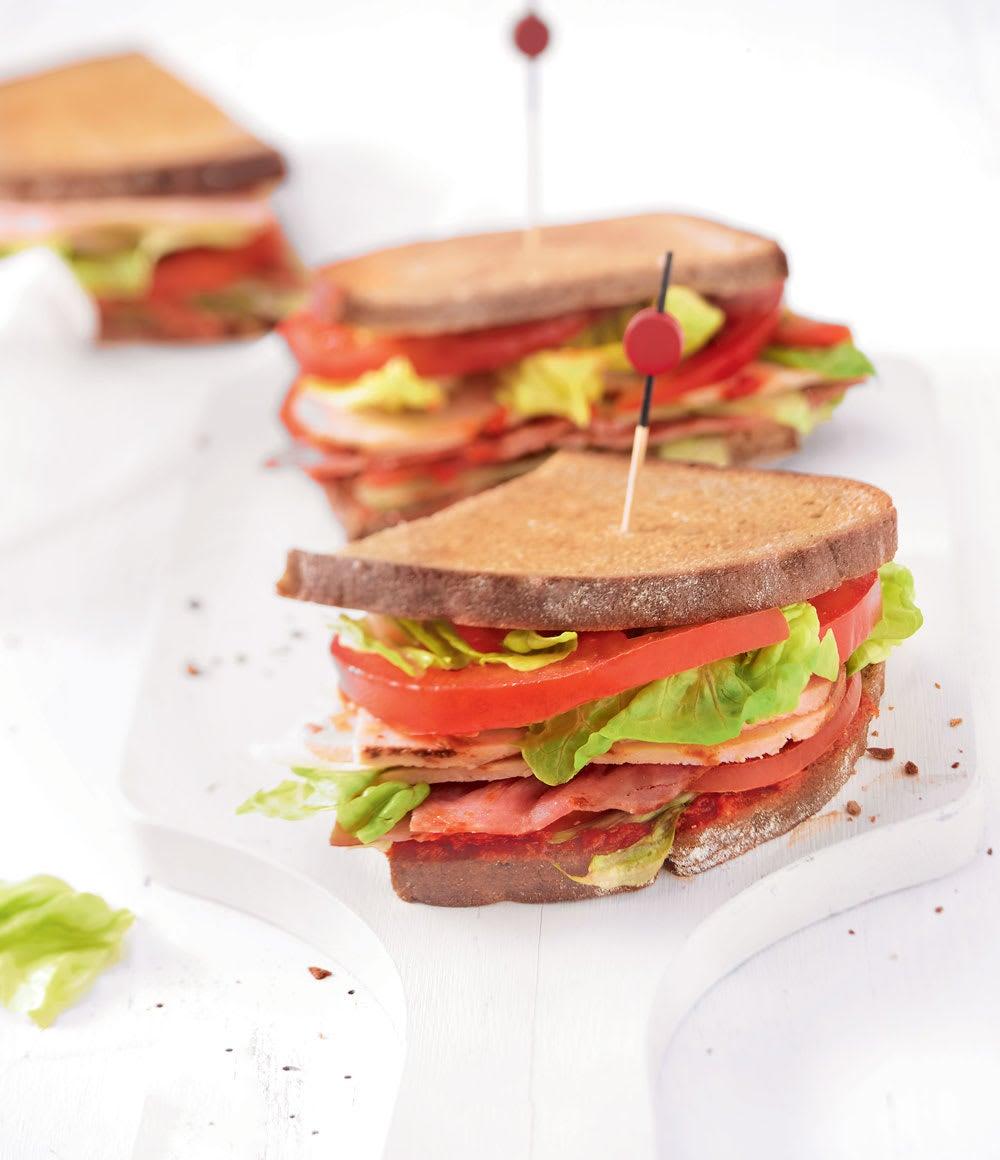 Photo de/du Sandwich au poulet par WW