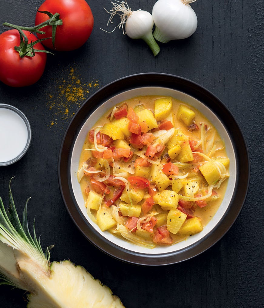Photo de/du Curry d'ananas par WW