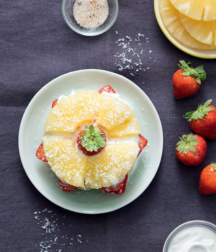 Photo de/du Millefeuille d'ananas à la fraise par WW