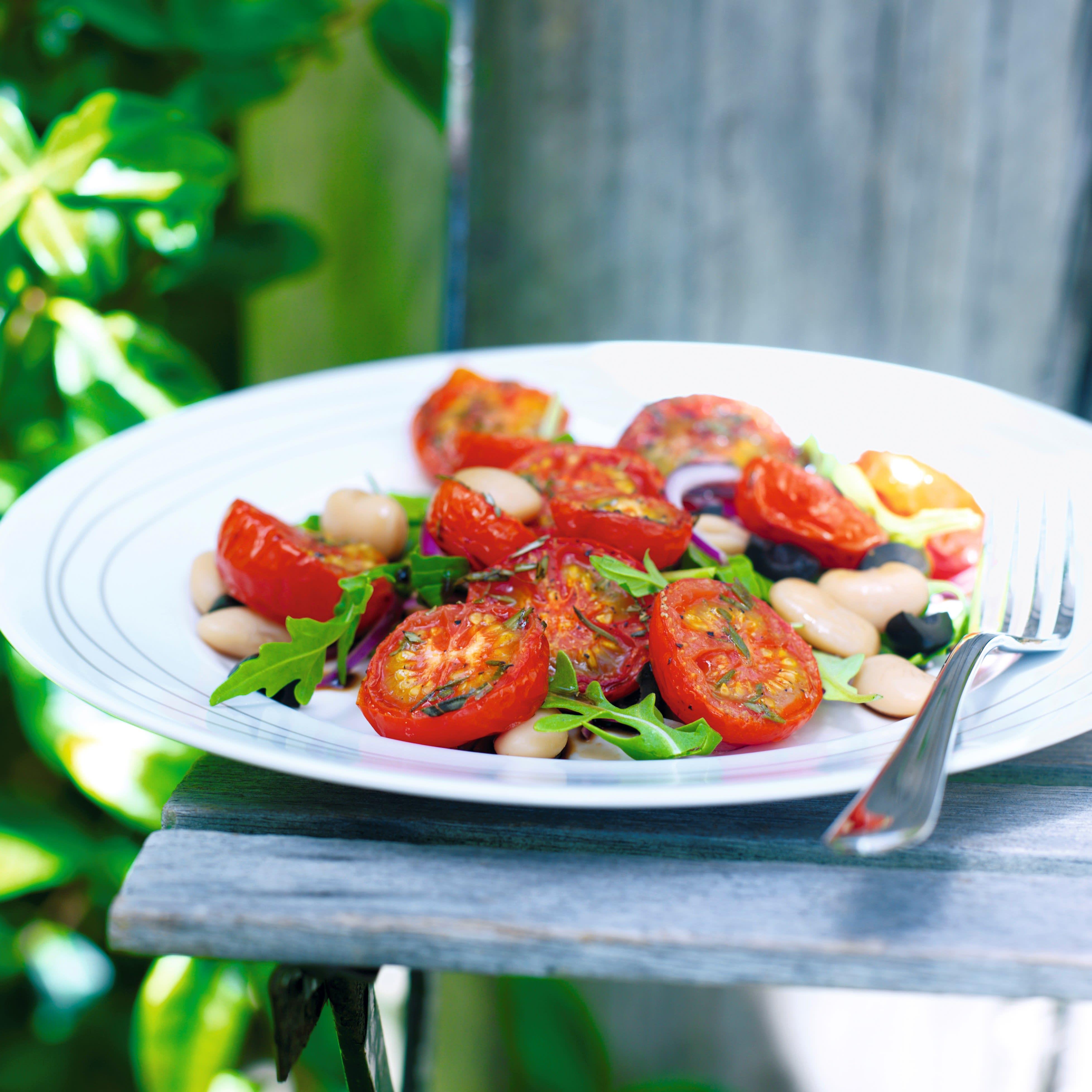Photo de/du Salade de tomates grillées et haricots blancs par WW