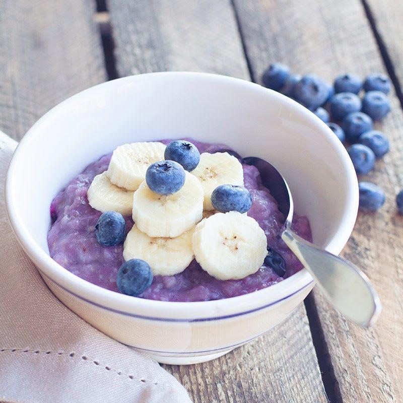 Photo de/du Porridge aux myrtilles par WW