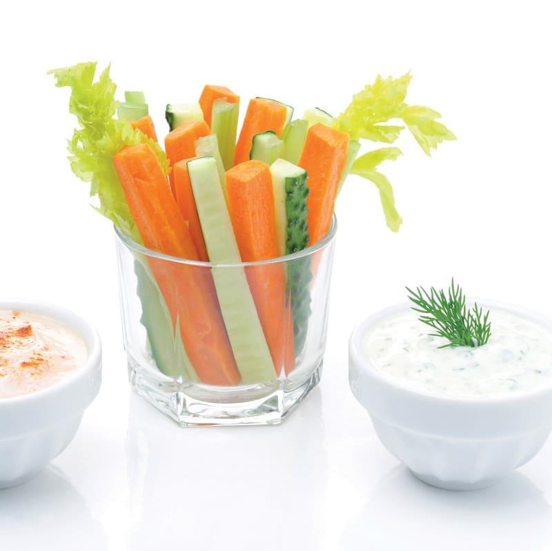 Photo de/du Batonnets de légumes par WW