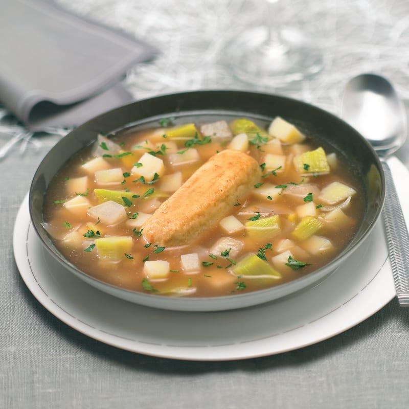 Photo de/du Soupe aux quenelles de viande par WW