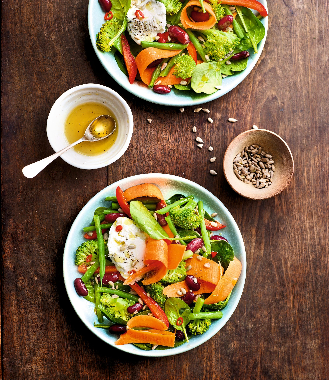 Photo de/du Salade d'hiver au chèvre et au miel par WW